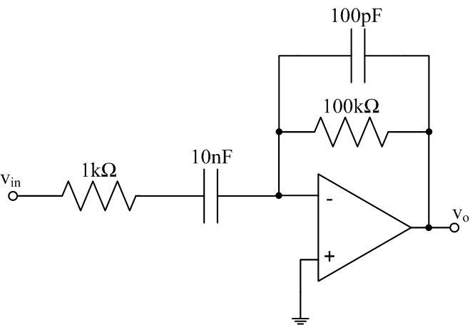 ee 212l op amp differentiators and integratorsfigure 2 improved differentiator circuit for practical implementation