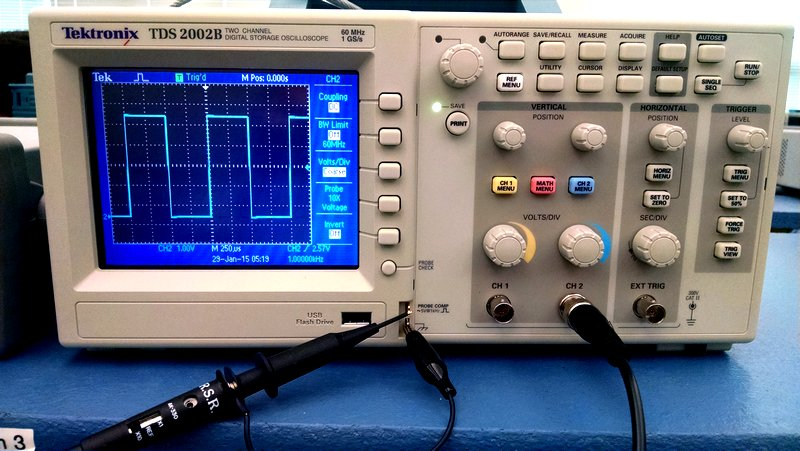 how to connect oscilloscope probe